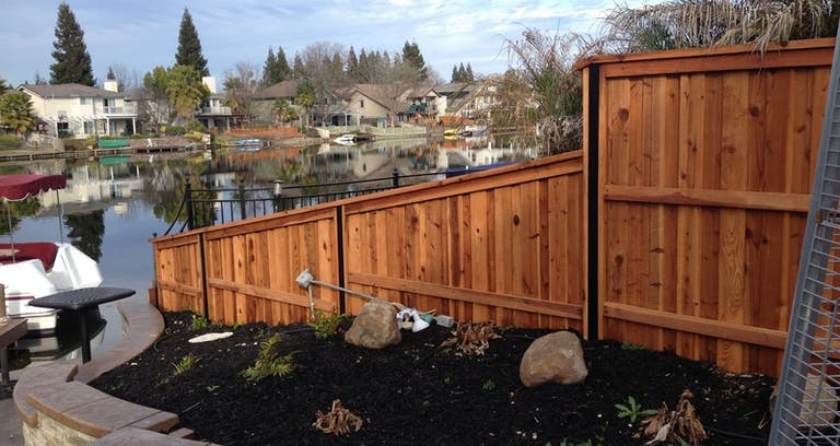 Top Rail Fencing wooden fence