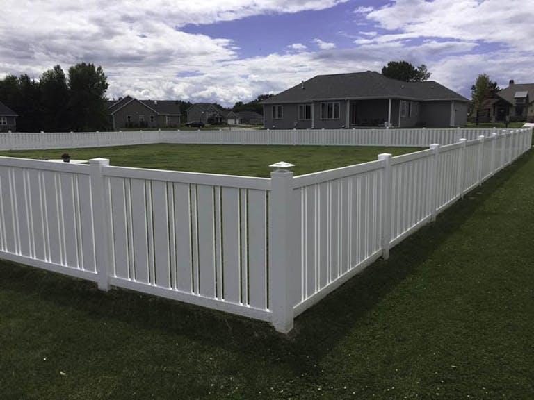 Ellis Fence Company Vinyl Fence