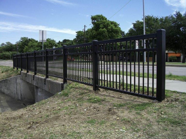 Sav-On-Fence-Iron Fence