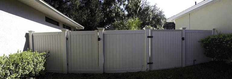 Williams Fence Co Vinyl Fence