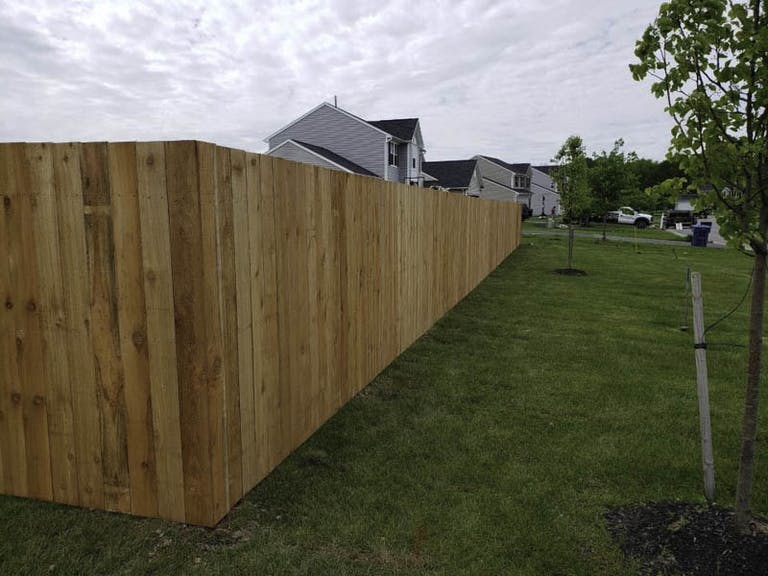 BF&R Fence Wooden Fence