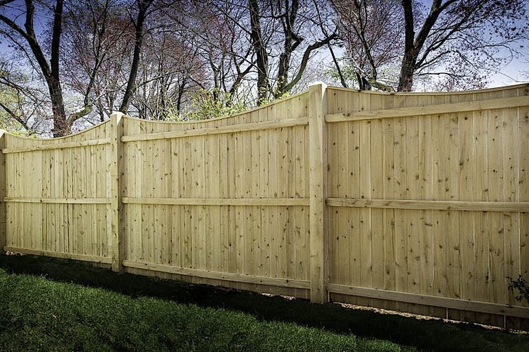 Southington Rustic Fence wooden fence