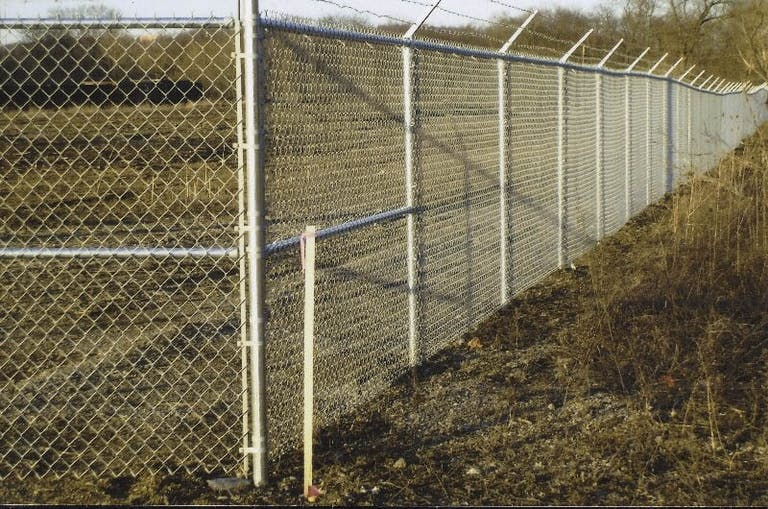 Fence-By-Maintenance-Service -Chain-link Fence