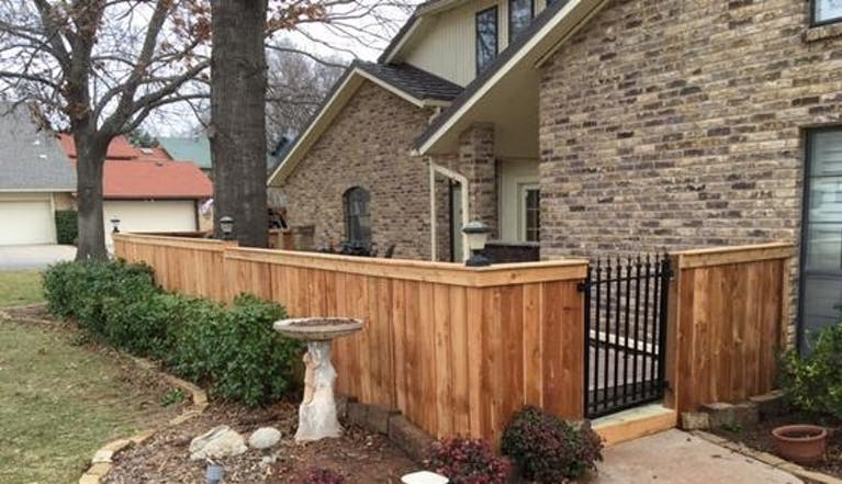 R&D Fencing and Sprinkler Systems Wooden Fence