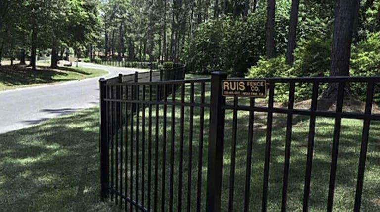 Ruis Fence Co. Iron Fence