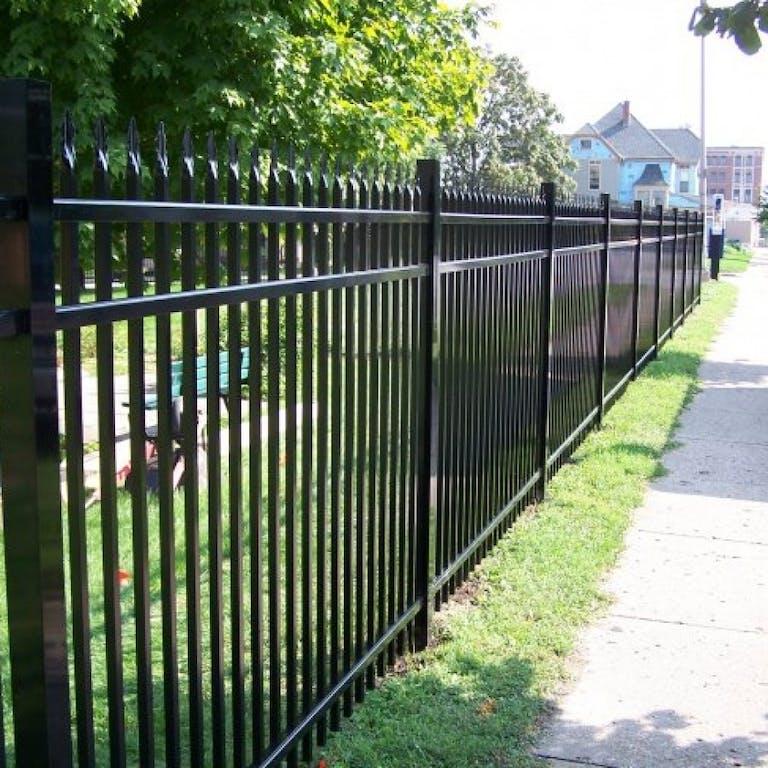 S.K. Service Corporation steel fence