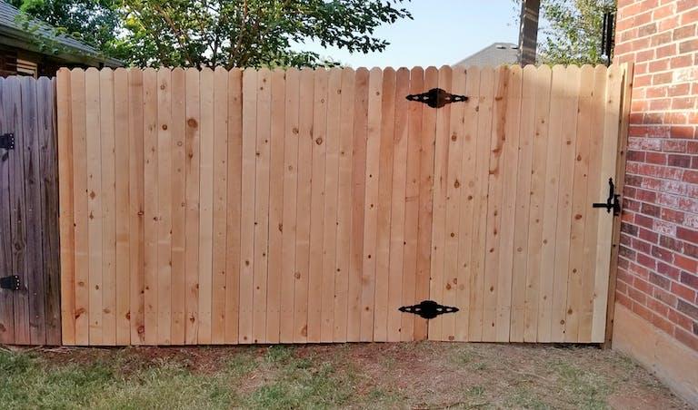 Titan Fence of Oklahoma wooden fence