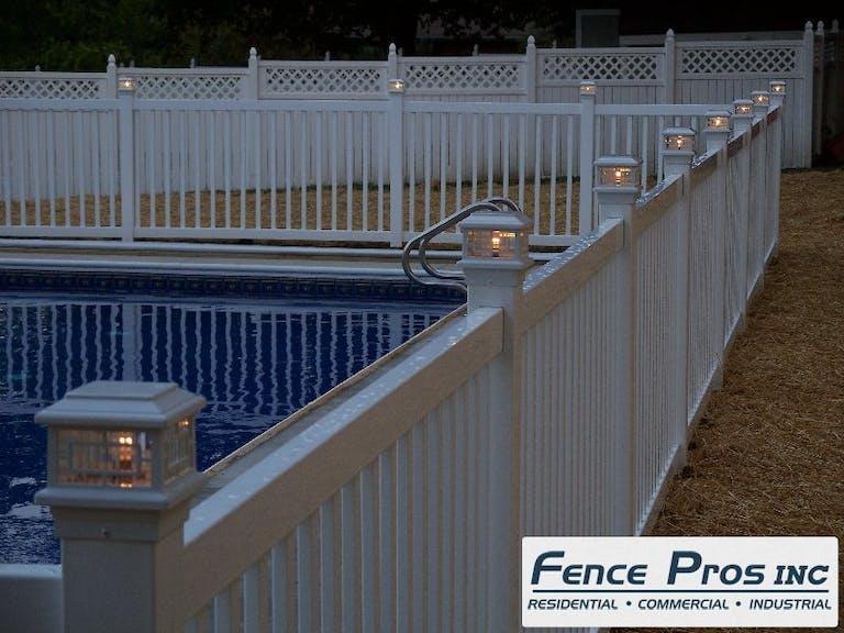Fence Pros LLC steel fence