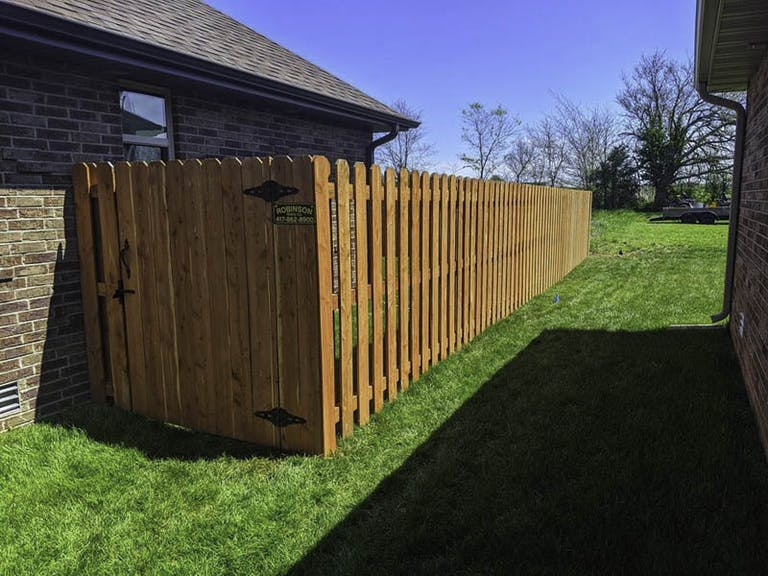 Robinson Fence Company Wooden Fence