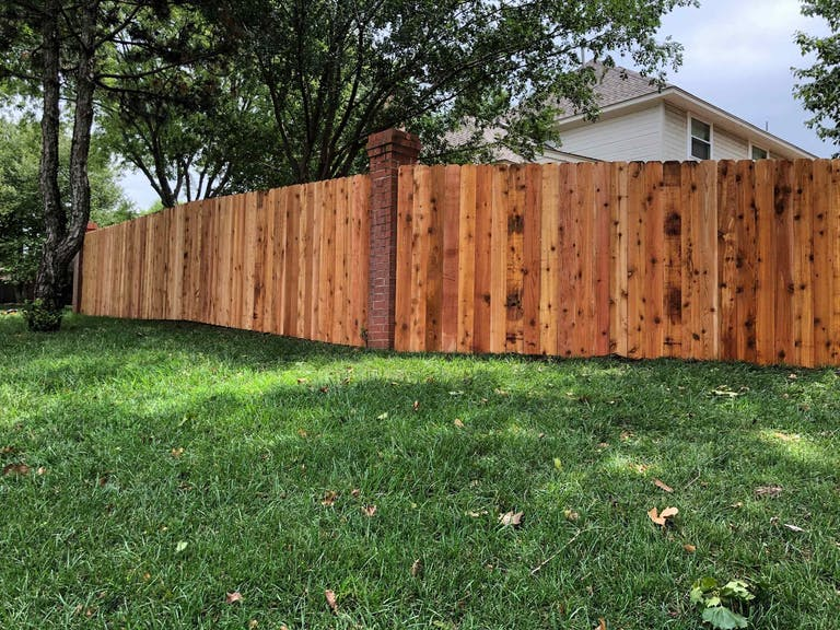 Outdoor World wooden fence