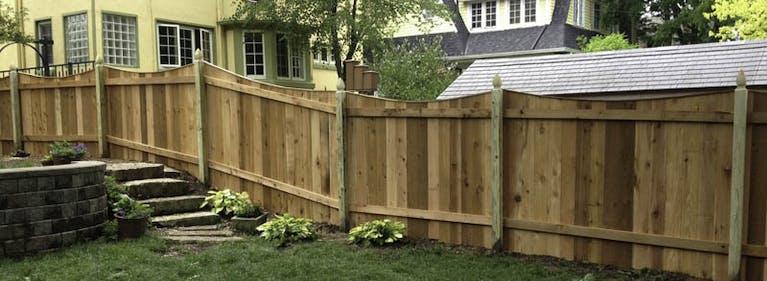 Dalton Fence Wooden Fence