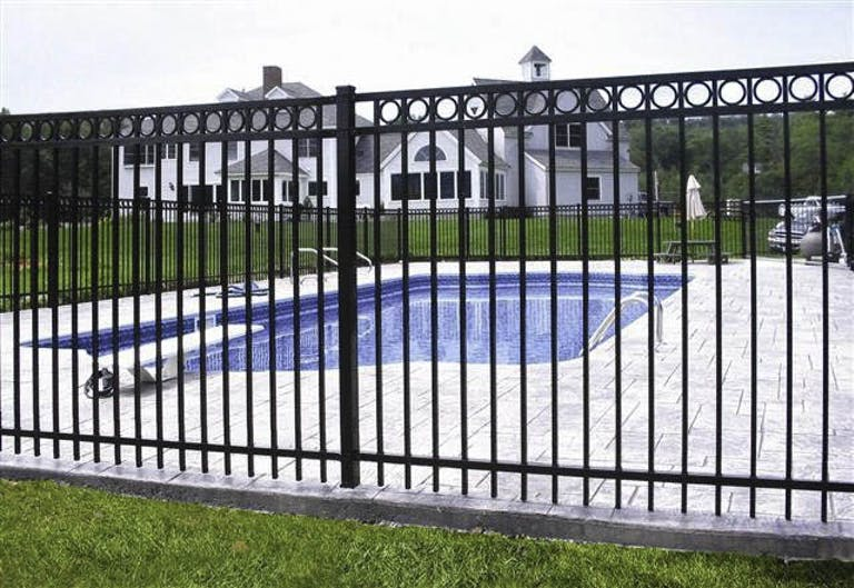 Dick's Evergreen Fence & Deck  Inc.-Iron Fence