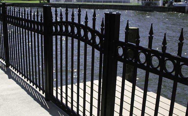 Bulldog Fence Co. Inc. Iron Fence