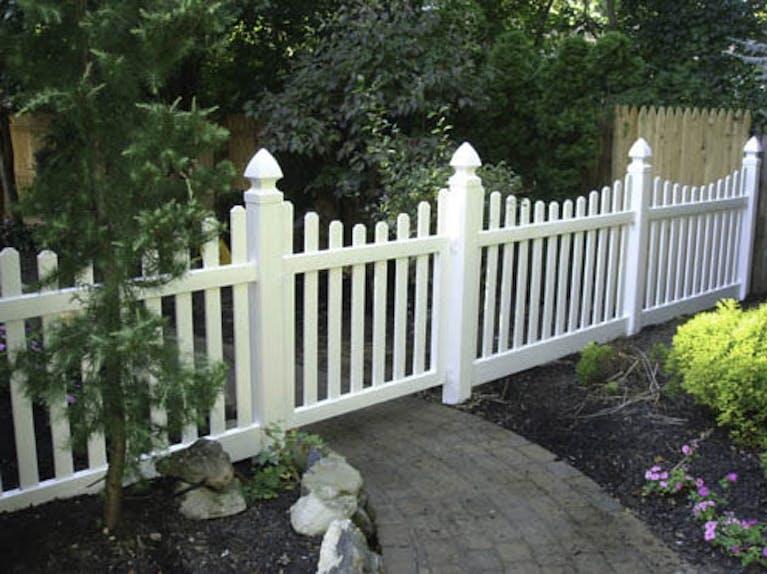 Victorian Fence Company Vinyl Fence