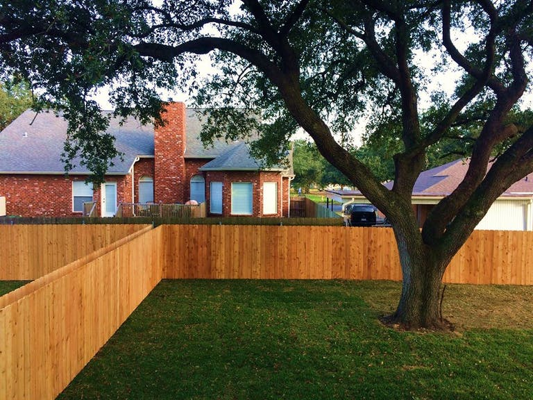 Impact  Fence  &  Deck  wooden  fence