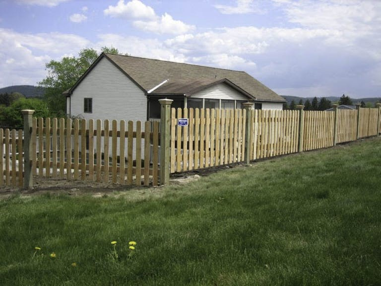 Whitmore Fence Company Inc. Wooden Fence