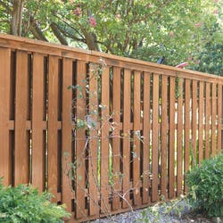 vertical rails fence style