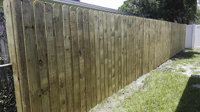 Good Looking Fence Wooden Fence