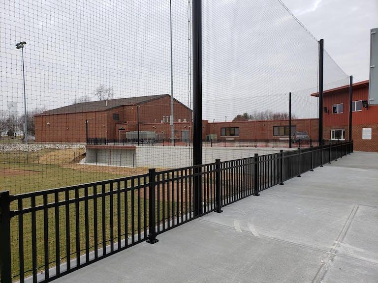 K & W PV Fence steel fence