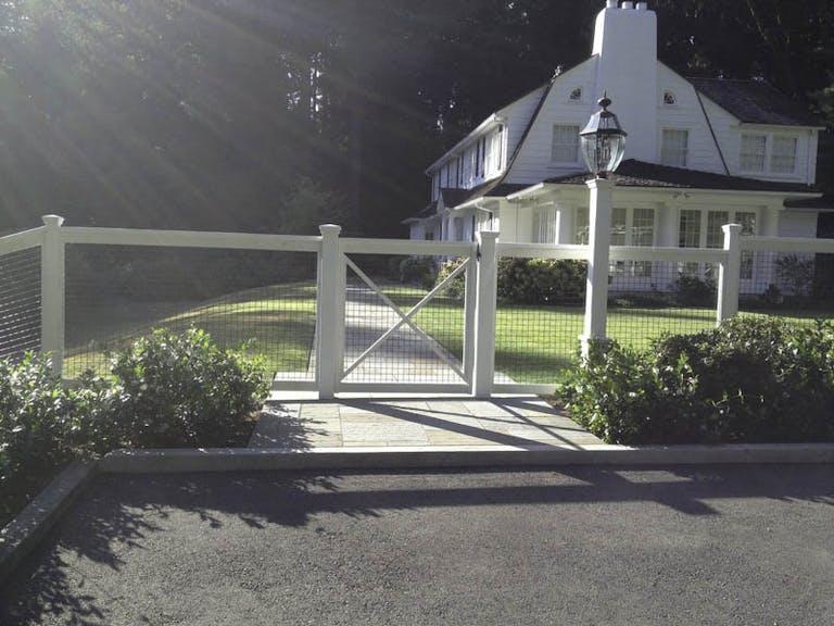 Contour  Fence Company  Inc. Custom Fence
