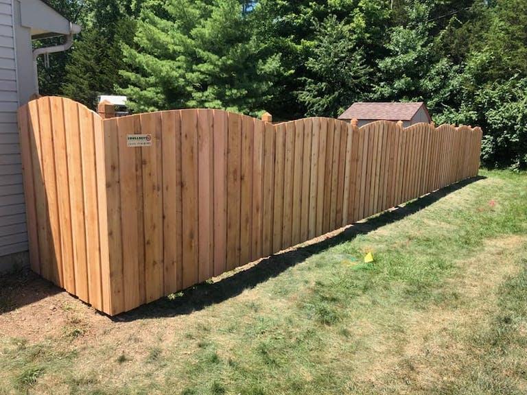 Bullseye Fence Design Inc. Wooden Fence