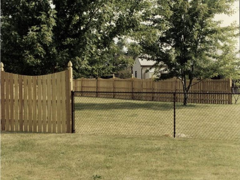 All American Fence Wooden Fence