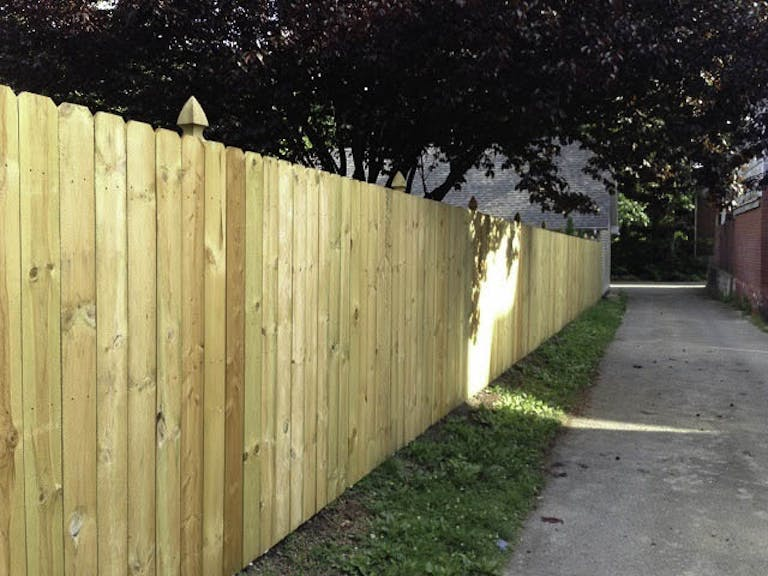 Falls City Fence Wooden Fence