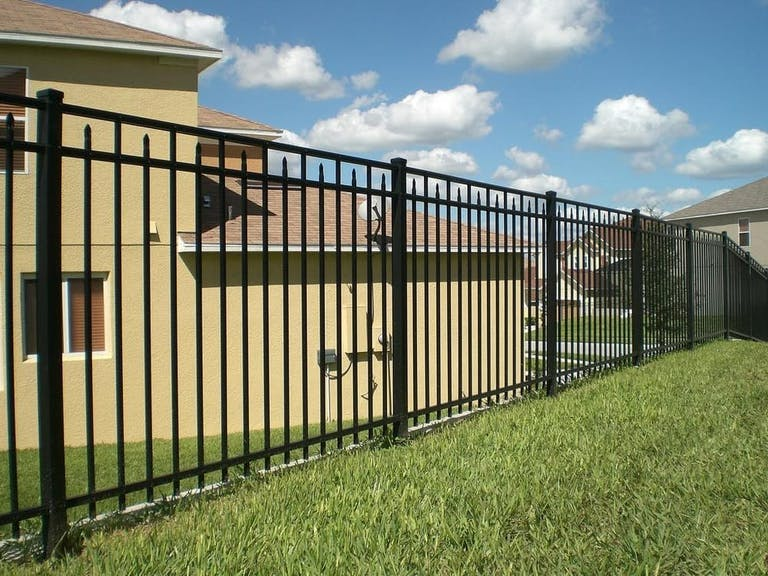 K & K Fence Inc. Steel Fence