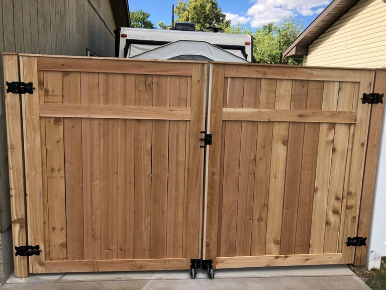 Arrow Fence wooden fence