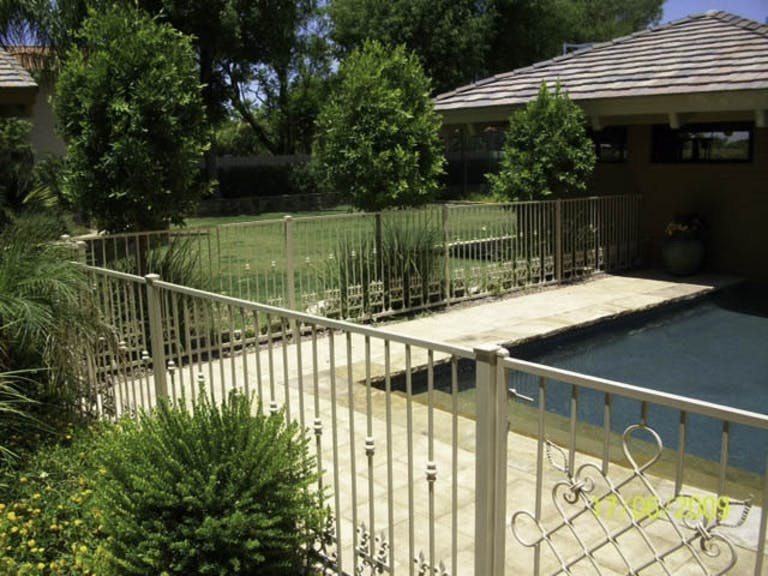 Ironman-Pool-Fence-Steel Fence