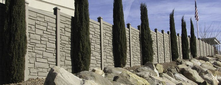 Sunstate Fence & Gate Inc. Stone Fence