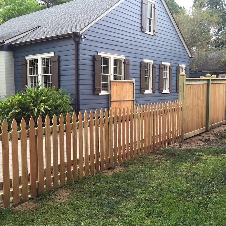 Scott  Fence  USA  wooden  fence