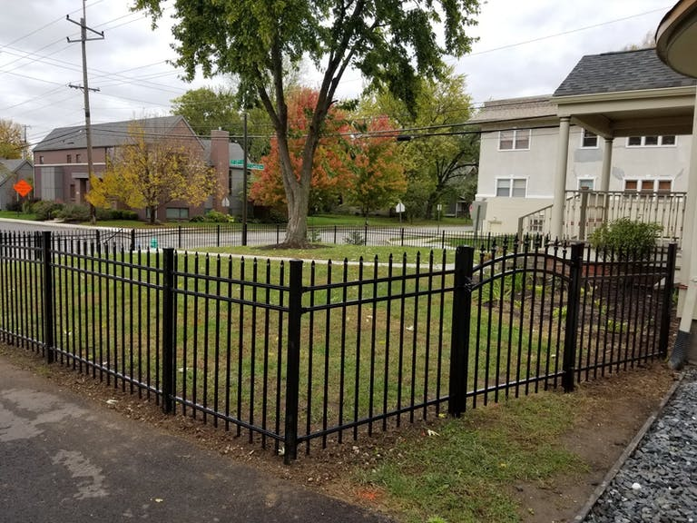 Draper Fencing Company steel fence