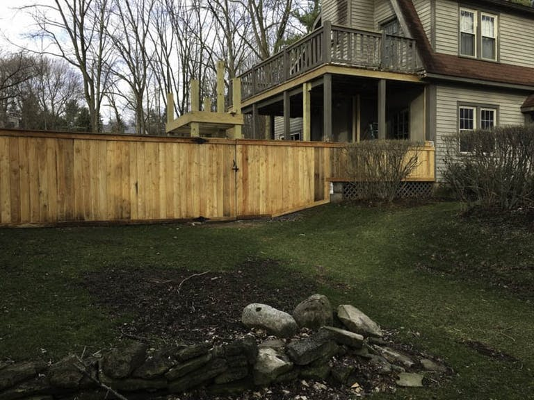 Syracuse Fence Inc. Wooden Fence
