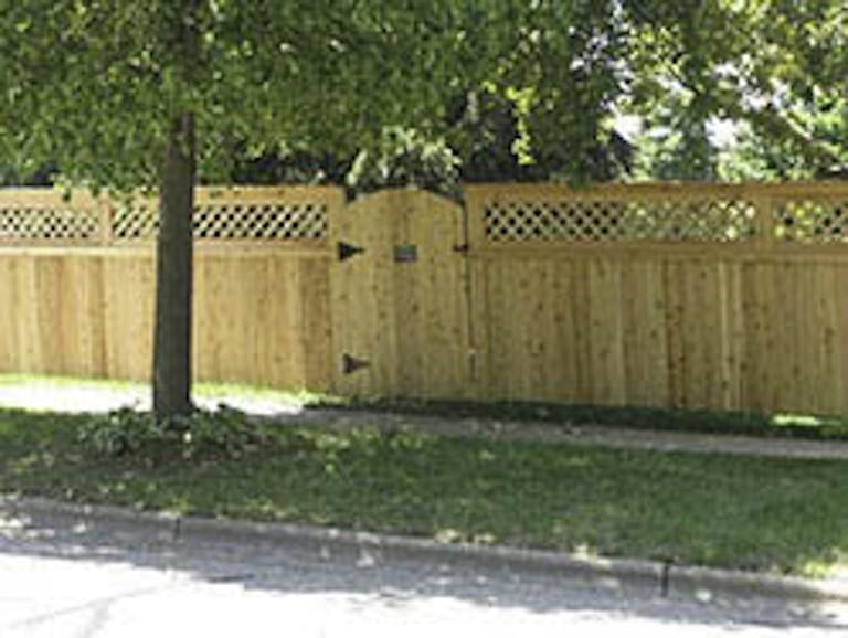 Action Fence Wooden Fence