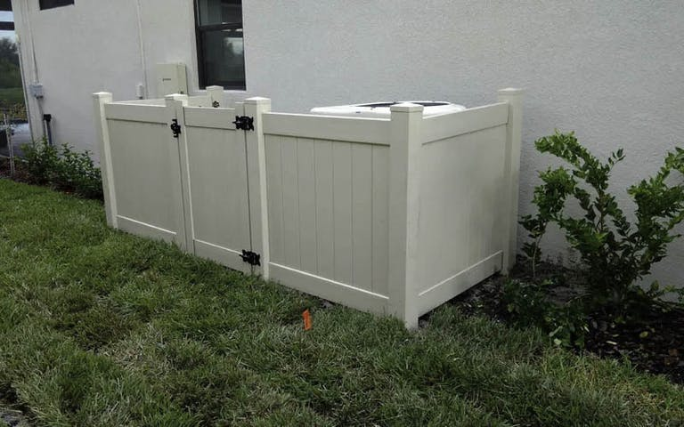 RMH Fence and Landscape Vinyl Fence
