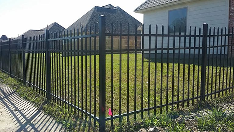 Forrest  Scott  Fencing  steel  fence