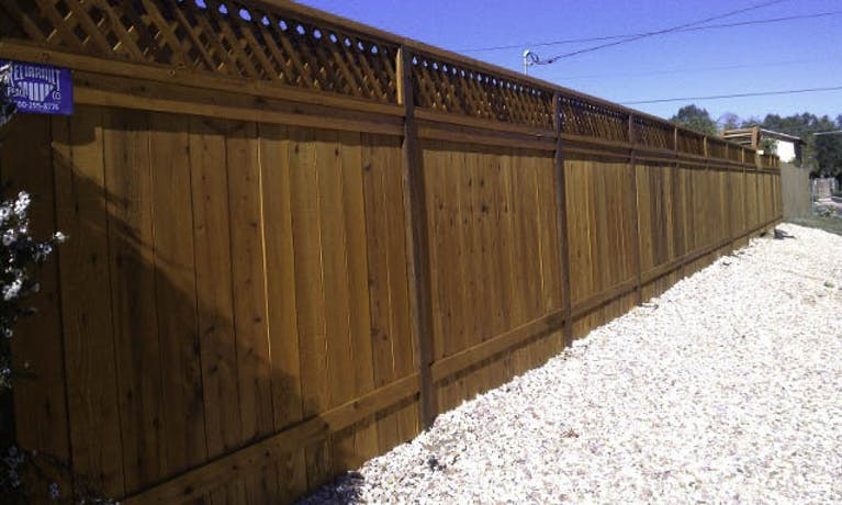 Reliabuilt Fence Company wooden fence