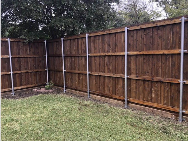 Housewright Group Wooden Fence