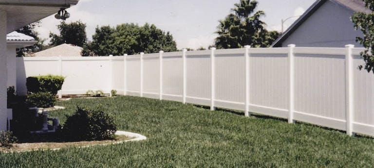 AARO Fence Vinyl Fence