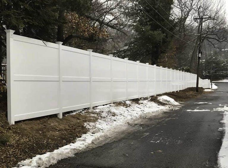 Cornerstone Fence & Ornamental Gate vinyl fence
