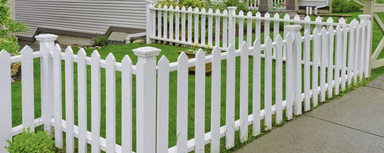Western Ohio Fence & Supply Co Picket Fence