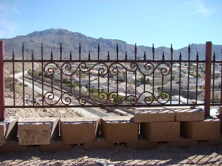 New Mexico Steel Fabricators Inc. steel fence