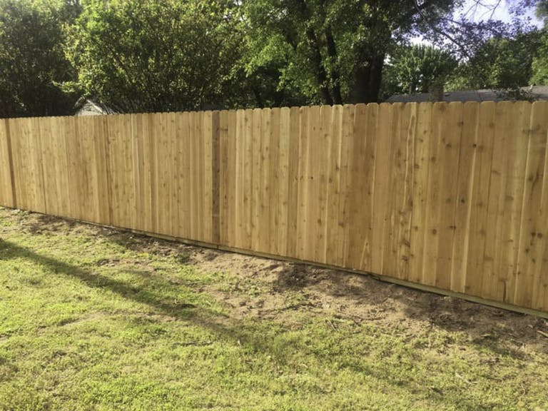 Oklahoma-Turf-and-Pest-Commission-Wooden Fence