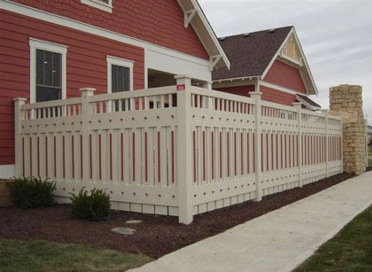 Hittle Construction Wooden Fence