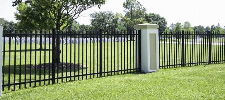 Aber-Fence-and-Supply-Co. -Inc.-Iron Fence