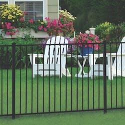 ornamental steel fence style