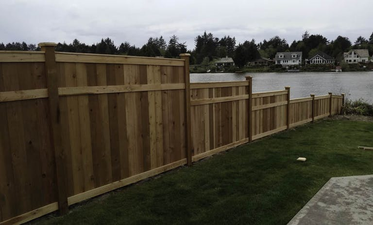 RC Fence Inc. Wooden Fence
