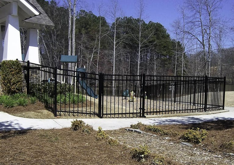 First-Fence-of-Georgia-Iron Fence