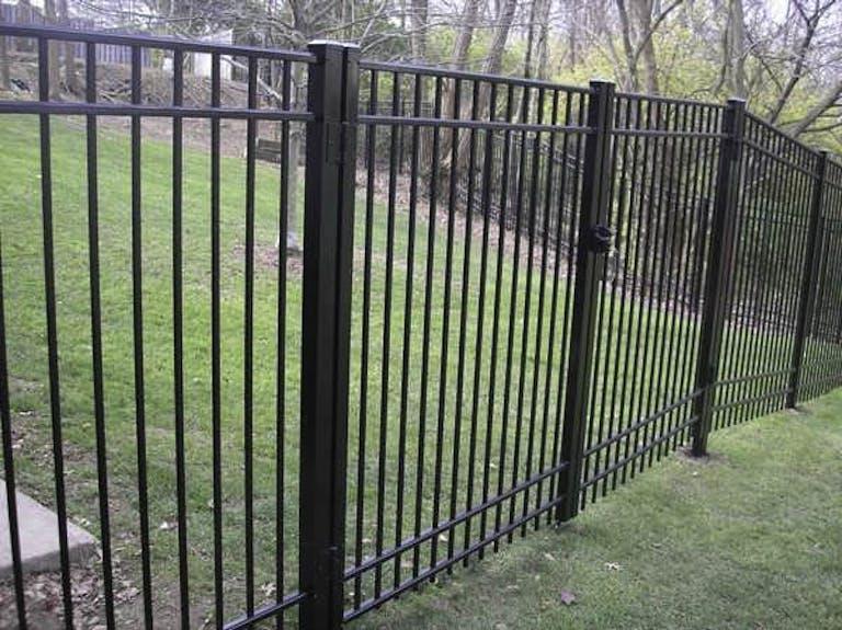 E.M.E. Fence Company Iron Fence